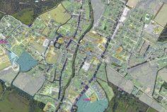 Regolamento Urbanistico di Calci da tavole CAD in ambiente GIS, Calci, 2012 - Alberto Antinori