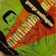 George Wallington- W/ Swedish All Stars, Metronome MEP 20 Design: Burt Goldblatt.