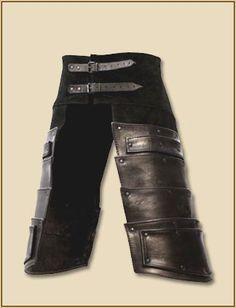 Larp Leather Armor Albrecht Tassets Thevikingstore Co Uk