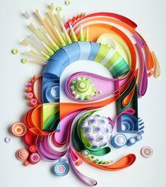 Гений бумаги рюш Юлия Бродская - Все интересное в искусстве и не только.