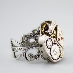 The Quintessential Steampunk Ring Artfully by LondonParticulars