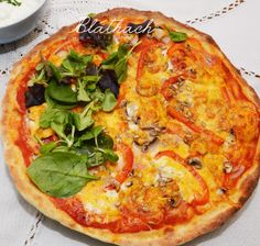 We've made homemade pizza for a long time. Learning how to make pizza at home? Here's how to make and bake an epic pizza at home. This easy pizza dough recipe is great for beginners. Pizza Yeast, Pizza One, Garlic Dip, Easy Pizza Dough, Making Homemade Pizza, How To Make Pizza, Tray Bakes, Vegetable Pizza, Breads