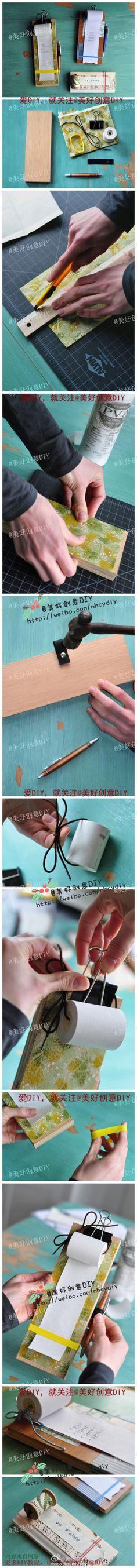 DIY Creative Notepad