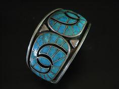 Ondelacy Family Turquoise Hummingbird Design Bracelet