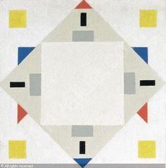 HUSZAR Vilmos - Composition géométrique