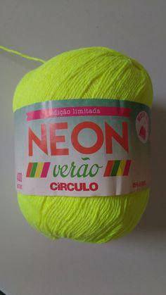 Bojo para Biquíni, confeccionado com o fio NEON Verão da Cìrculo S/A