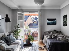 Studio apartment | photos by Boukari & styling by Lindholm Follow Gravity Home: Blog - Instagram - Pinterest - Facebook - Shop