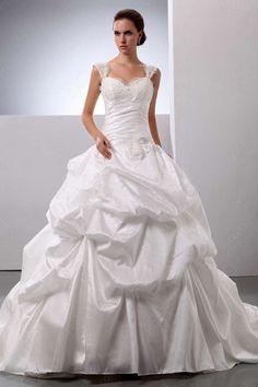 BallGown Off-the-shoulder Wedding Dress