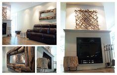 Pür cachet dans un décor contemporain Decoration, Wood Wall, Fashion Accessories, Living Room, House Styles, Shopping, Products, Home Decor, Contemporary