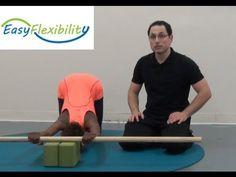 Shoulder Range of Motion Shoulder Stretching Shoulder Flexibility Program Overhead Movement Gymnastics Flexibility, Flexibility Exercises, Shoulder Range Of Motion, Back Walkover, Shoulder Flexibility, Gymnastics Videos, Acro, Handstand, Weight Lifting