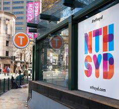 The North Sydney CBD has been relaunched under a revitalised brand developed by Frost*Collective on behalf of North Sydney Council. Destination Branding, Built Environment, Worlds Of Fun, Design Awards, Visual Identity, Creative Design, Frost, Vibrant Colors, Design Inspiration
