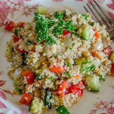 Gluten-Free Quinoa Salad by theflirtyfoodie