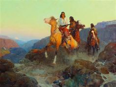 Renegade Apaches by Frank Tenney Johnson