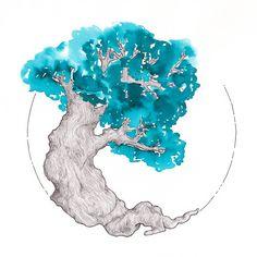 Ink Test Tree: Sailor Jentil ~ Yama-dori