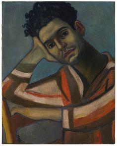 Alice Neel (American, 1900-1984), José, 1936. Oil on canvas, 58.4 x 46 cm.
