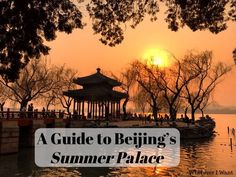 Beijing's Summer Palace is one of the most beautiful places in the city. Make sure you add it into your plans! It's absolutely gorgeous!