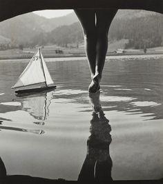 Am Weissensee, Carinthia c1930 (Rudolf Koppitz)