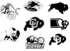 A history of logos for the University of Colorado Boulder's Athletics department.