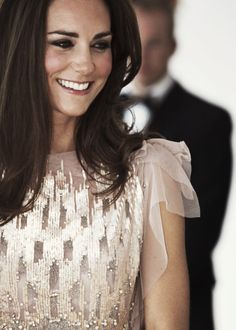 The Duchess of Cambridge keeping it chic in some glam sparkles! #katemiddleton #duchess #sparkle