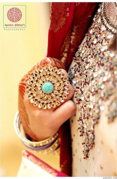 Indian ring; it can also look good with American clothing :)