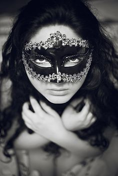 Nice mask and with the right outfit you could have the best masquerade attire at the party.