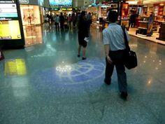 Innovative Digital Signage in Taiwan International Airport