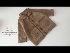 Moda Crochet, Baby Knitting Patterns, Baby Kids, Youtube, Sewing, Dresses, Knit Jacket, Templates, Kids Fashion
