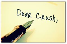 I don't think I'll ever get too old to continue loving the exquisitely exhilarating feeling of having a crush...  Here's hoping I have a lifetime crush on my future husband.
