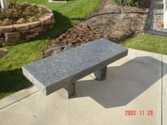 3 piece Memorial, Garden, or Cremation Bench