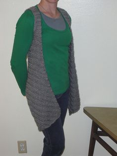 Ravelry: Draping Vest pattern by Patrice Nielson