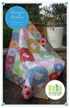 Wringer Washer A PDF Pattern by loftcreations on Etsy, $4.00