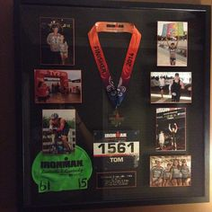 """""""Ironman Louisville '14 frame is finished and on the wall."""""""