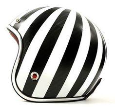 Black & white, black and white, stripes, black, white, helmet, bike, bicycle