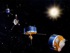 The Pioneer anomaly or Pioneer effect is the observed deviation from predicted accelerations of the Pioneer 10 and Pioneer 11 spacecraft after they passed about 20 astronomical units on their trajectories out of the Solar System. Both Pioneer spacecraft are escaping the Solar System, but are slowing under the influence of the Sun's gravity. The two spacecraft were launched in 1972 and 1973. The last communication with either spacecraft was in 2003, but analysis of recorded data continues.