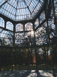 Palacio de Crista in The Buen Retiropark, Madrid / photo by Marta Aguilar Cerezo