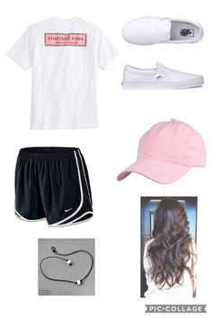 Casual summer outfits plus size camp outfits, summer school outfits, college outfits, casual White Girl Outfits, Teen Fashion Outfits, Sporty Outfits, Girl Fashion, Lazy Outfits, Fashion Edgy, Fashion 2020, Fashion Dresses, Tumblr Outfits