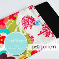 Ipad pattern $7.00. I'm going to make one of these for my mum