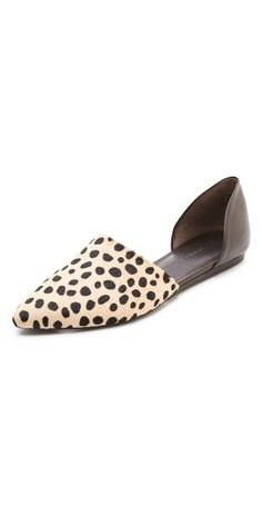 Jenni Kayne Cheetah Printed Pony Hair and Leather Pointed Toe Flat Shoe Boots, Shoes Sandals, Heels, Flat Shoes, Mode Shoes, Pointed Toe Flats, Beautiful Shoes, Pretty Shoes, Me Too Shoes