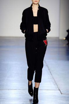 Black Wool Embroidery Jacket - FALL WINTER 2016 GIULIETTA - in preo on www.PRECOUTURE.com