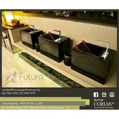 Outro ângulo... #corian #futurasuperficies #arquitetura #designinteriores #designinterior #casacor2014 #casashopping