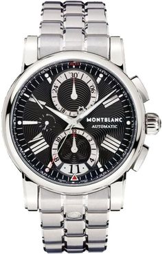 102376 MontBlanc Star 4810 Chronograph Automatic Mens Steel Watch