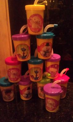 More Doc McStuffins Birthday Cups