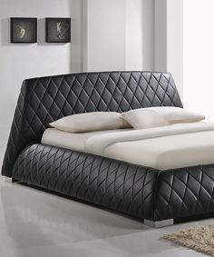 Look what I found on #zulily! Black Paragon Queen Platform Bed #zulilyfinds