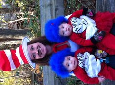 Homemade thing 1 thing 2 costumes :)