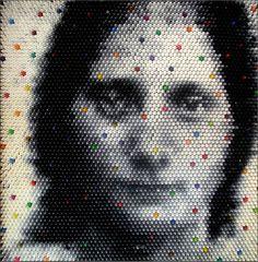 Crayon Sculptures by Christian Faur