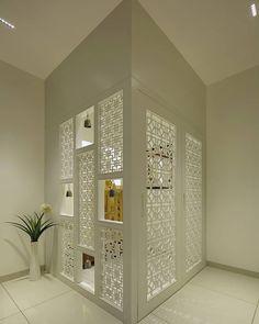 Living Room Partition Design, Pooja Room Door Design, Room Partition Designs, Home Room Design, Home Interior Design, Living Room Designs, Bedroom Designs India, Interior Exterior, Room Interior