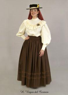 vestimenta canaria campesina - Buscar con Google