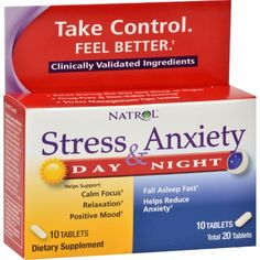 Remedies Blocked Arteries Natrol Stress Anxiety Day and Nite Formula Description: Take Control Feel Better Clinically Validated Ingredients Relax During the Day Sleep at Night Drug-Free and Non-Habit Forming Ease the effects o How To Cure Anxiety, Social Anxiety, Anxiety Relief, Stress And Anxiety, Stress Relief, Health Anxiety, Ketogenic Diet, Useful Tips, Menopause