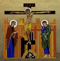 Crucifixión.Icono. (Kiko Argüello)