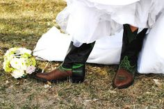 chores and chandeliers : Hand Painted bridal boots
